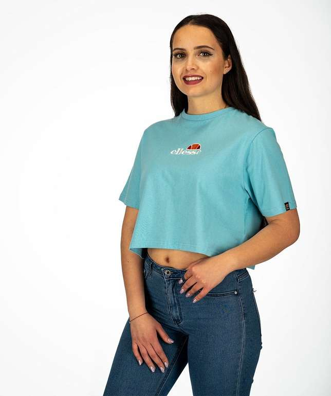 Ellesse Damen T-Shirt 'Fireball' in hellblau für 17,77€ inkl. VSK (statt 25€)
