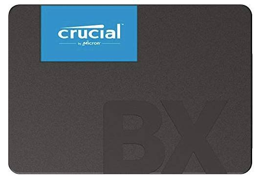 Crucial BX500 - 2,5 Zoll SSD mit 120GB Speicherplatz für 17,10€ inkl. Versand (statt 23€)