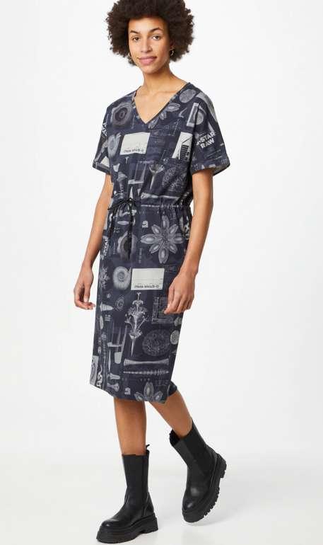 "G-Star RAW Kleid ""Adjustable"" in dunkelblau/grau für 37,45€ inkl. Versand (statt 90€)"