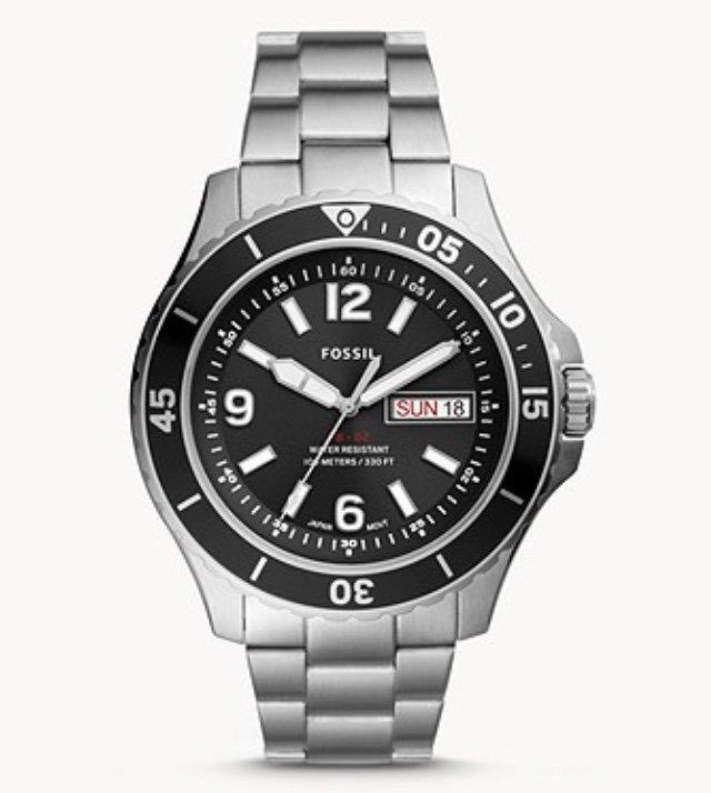 Fossil FS5687 FB-02 - Herren Armbanduhr aus Edelstahl für 50,40€ inkl. Versand (statt 82€)