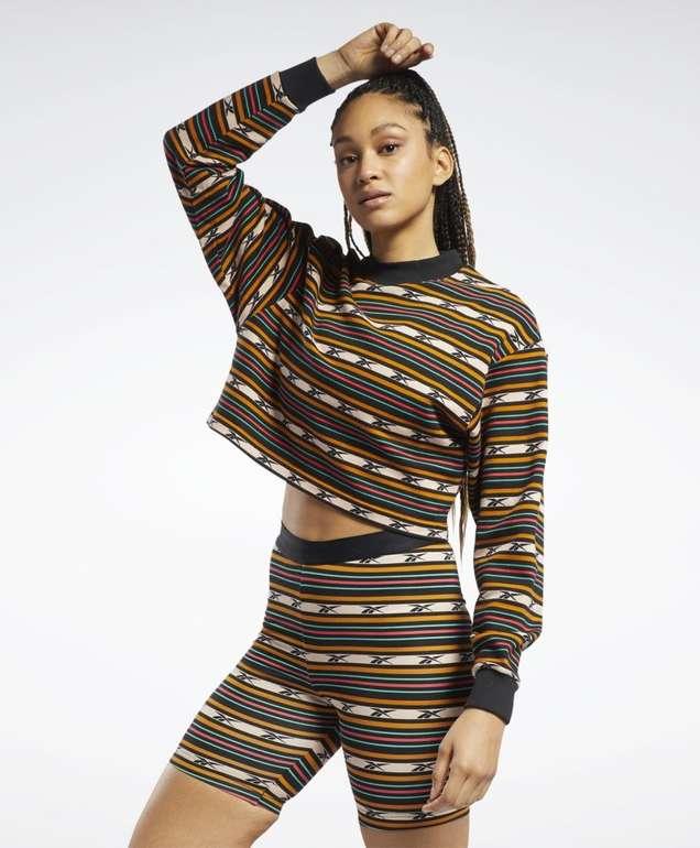 Reebok Classics Printed Sweatshirt in 2 Farben für je 35€ inkl. Versand (statt 48€)