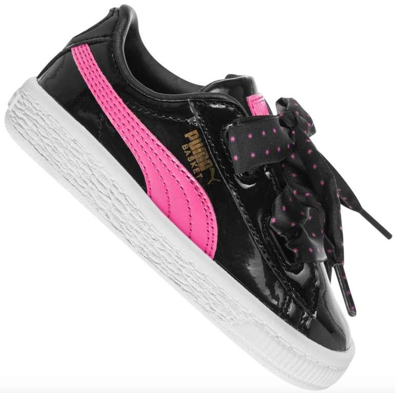 Puma Basket Heart Stars Mädchen Sneaker für 23,94€ inkl. Versand (statt 35€)
