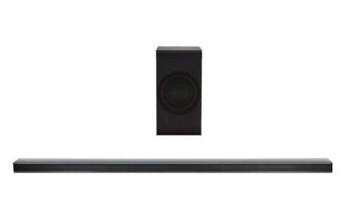 LG SJ8 – 4.1 Soundbar mit Bluetooth, Subwoofer und 300 Watt zu 199€ (statt 257€)