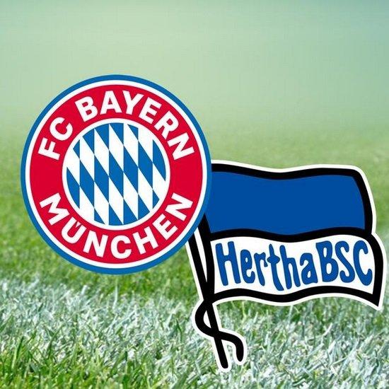 Free-TV: 20:15 Uhr - Bundesliga live im ZDF mit FC Bayern - Hertha BSC (Hinweis!)