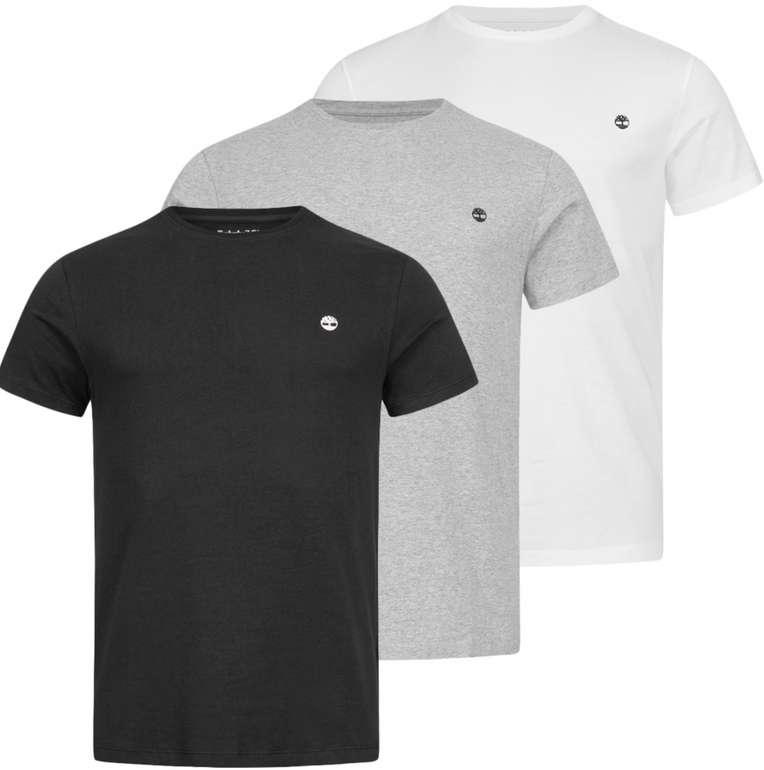 Timberland Basic Crew Slim Herren T-Shirt (3er-Pack) für 31,94€ inkl. Versand (statt 50€)