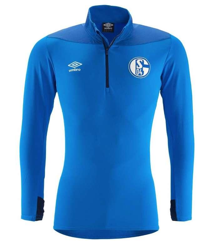 55% Rabatt auf FC Schalke 04 Fanartikel bei Sportschnäppchen, z.B. Half Zip Trainingsshirt ab 37,47€