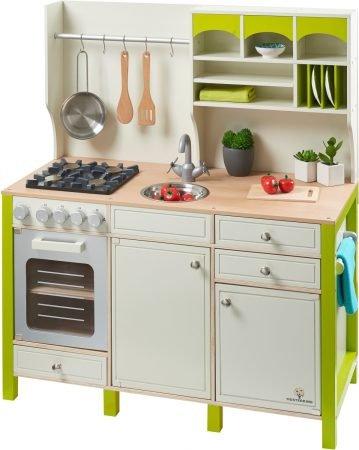 Musterkind Spielküche Salvia in creme/grün für 159,99€ inkl. VSK (statt 190€)