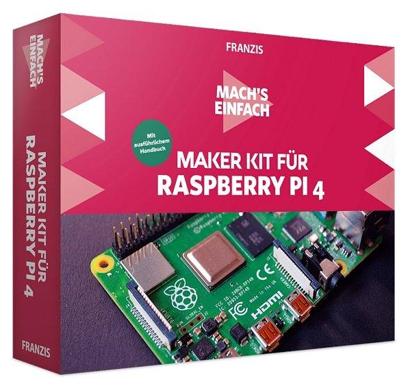 Franzis Maker Kit für Raspberry Pi 4 - Mach's einfach für 24,95€ inkl. Versand (statt 37€)