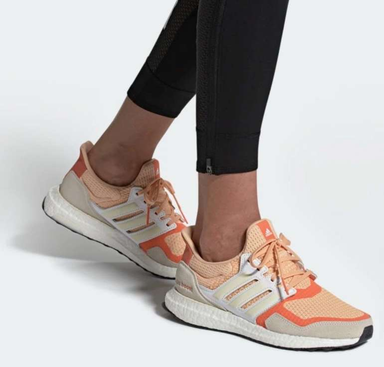 Adidas Ultraboost S&L Semi Coral Damen Sneaker für 89,97€ inkl. Versand
