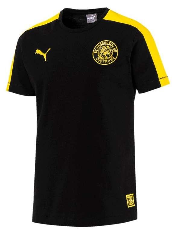 Puma BVB Herren T7 T-Shirt für 12,12€ inkl. Versand (statt 18€)