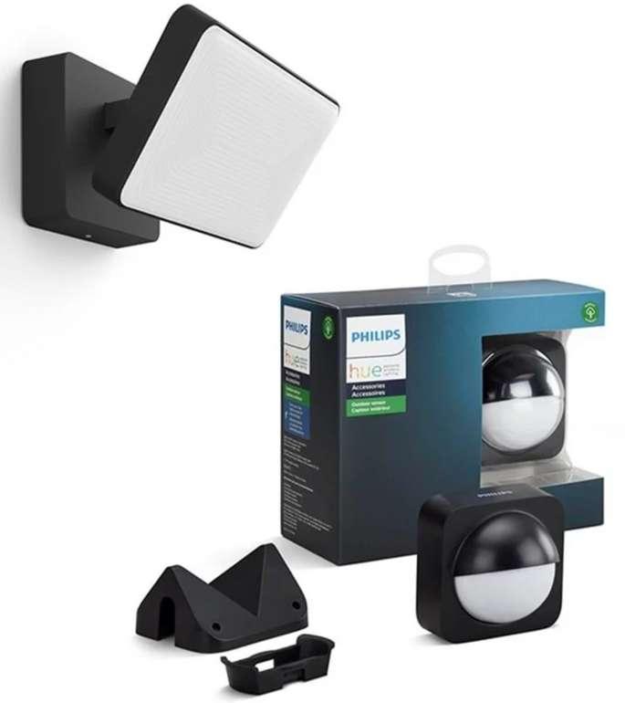 Philips Hue Discover Flutlicht + Outdoor Bewegungsmelder für 134,49€inkl. Versand (statt 176€)