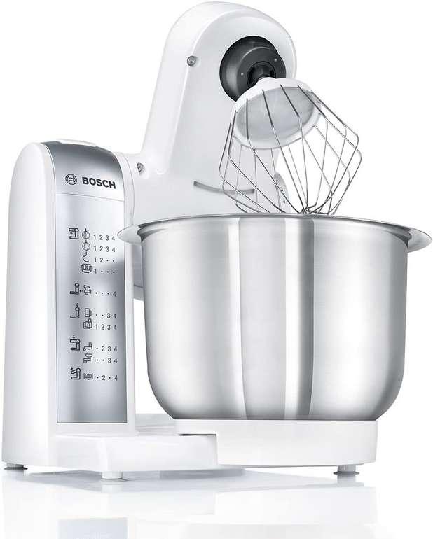 Bosch Küchenmaschine MUM4880 (600W, mit 3,9-Liter-Rührschüssel) und viel Zubehör für 131,98€ inkl. Versand (statt 163€)