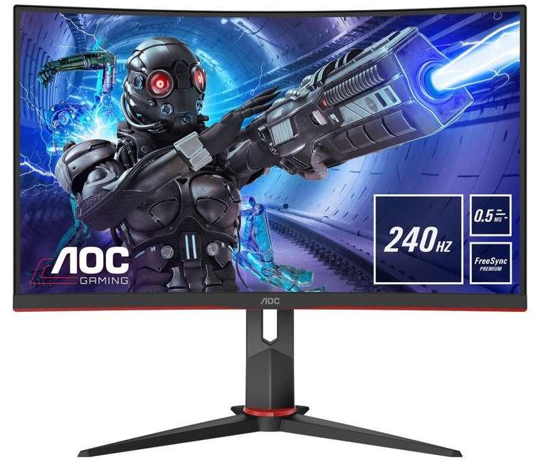AOC C27G2ZU/BK Gaming-Monitor mit 27 Zoll für 250,61€inkl. Versand (statt 281€)