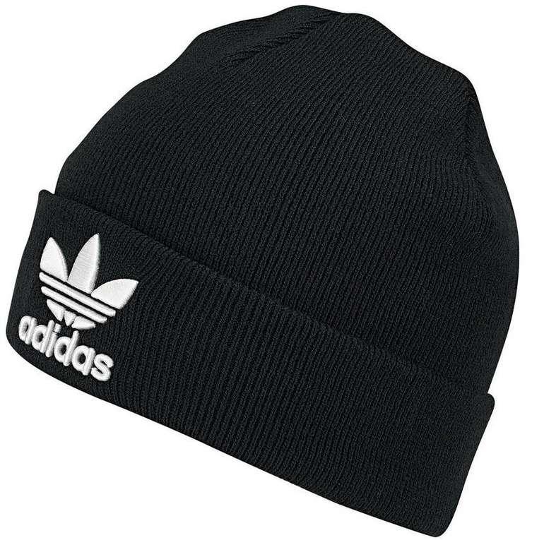 Adidas Originals Trefoil Beanie - schwarz für 13,41€ inkl. Versand (statt 23€)