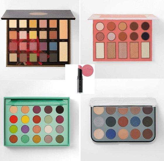 BH-Cosmetics Beauty Bundle (4 Paletten + Lippenstift) für 37,03€ (statt 65€)