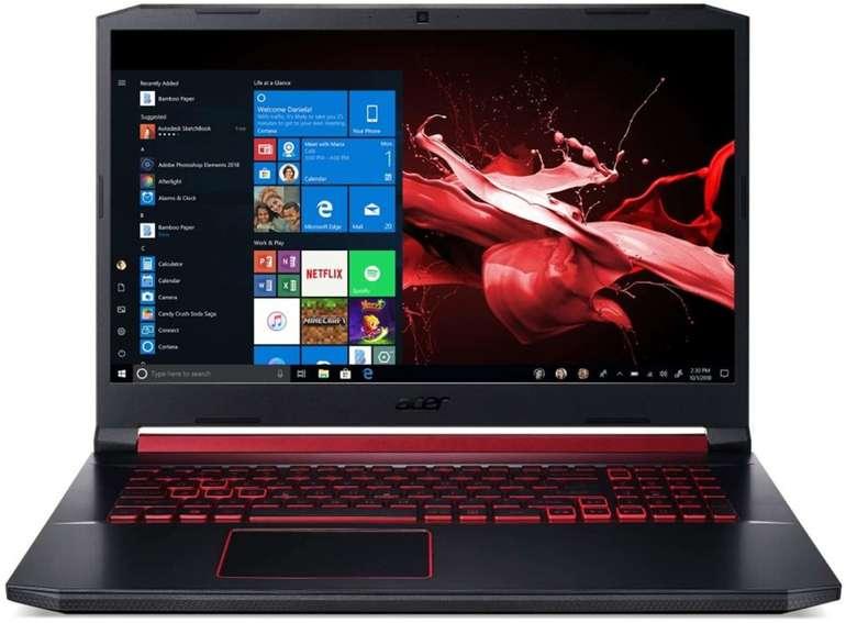 "Acer Aspire Nitro 5 AN517-51-56EU  (17.3"", i5-9300H, GTX 1650) für 804,95€ inkl. VSK (statt 1087€)"