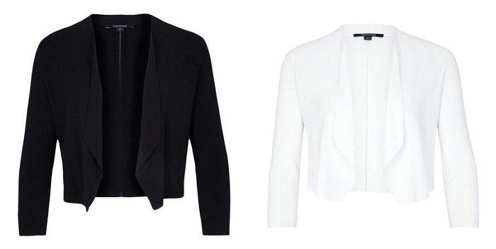 Comma Damen Bolero in Schwarz oder Weiß für 38,94€ inkl. VSK (statt 70€)
