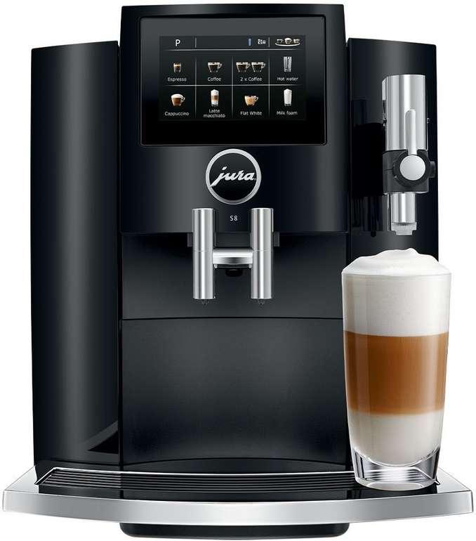 Jura S8 Kaffeevollautomat für 1.103,99€ inkl. Versand (statt 1.239€)