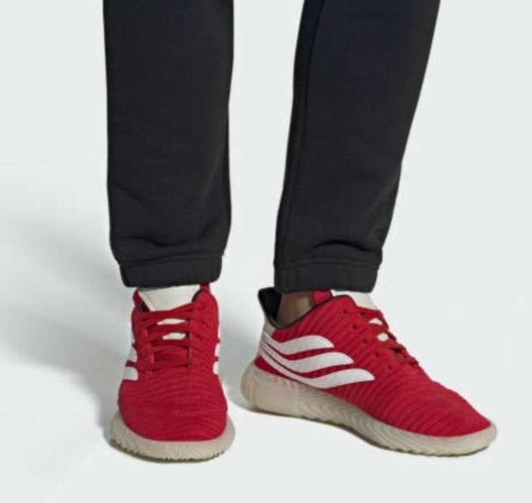 Adidas Originals Sobakov Sneaker in rot für 59,97€ inkl. Versand (statt 120€)
