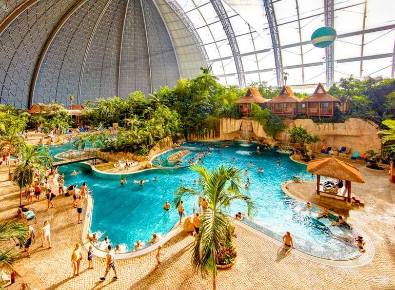 Tropical Islands: Eintritt + 2er Safari-Zelt ab 98€ + Frühstück (12. - 23.09.2021)