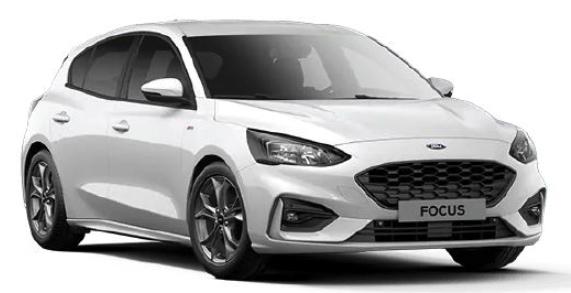 Privat- und Gewerbeleasing: Ford Focus ST-Line Hybrid 1.0 EcoBoost mit 155 PS für 149€ mtl. (LF: 0.48, Bereitstellung: 599€)