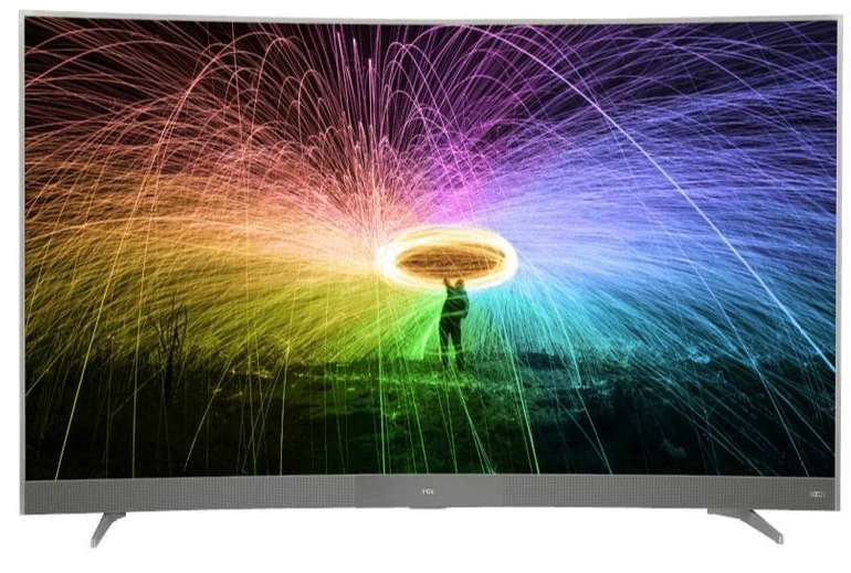 TCL U65P6096 LED TV (Curved, 65 Zoll, UHD 4K, Smart TV, Android TV) für 799€