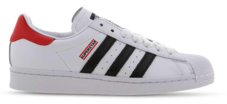 adidas Superstar X Run DMC Herren Sneaker in weiß-rot für 79,99€inkl. Versand (statt 120€)