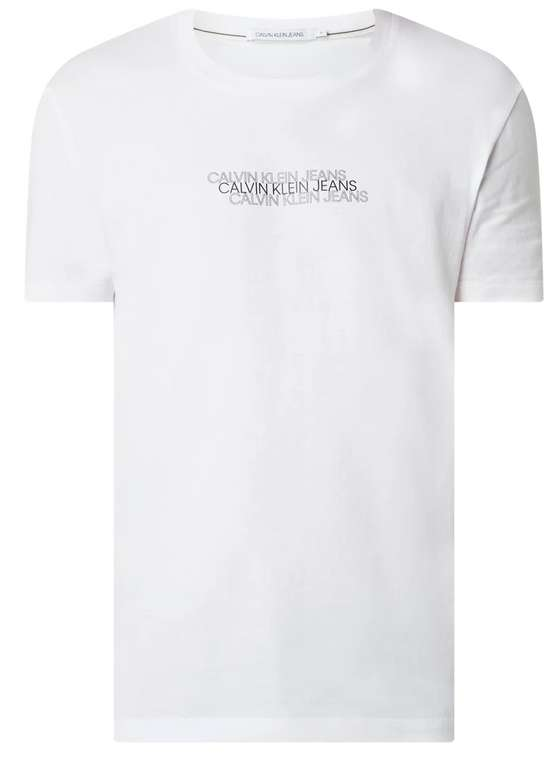 Calvin Klein Jeans Triple Logo Herren T-Shirt (4 vers. Farben) zu je 9,99€inkl. Versand (statt 30€)