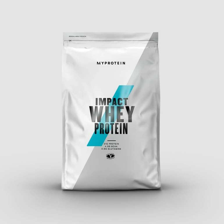 MyProtein: 60% im Sale + 32% Extra - z.B. 5kg Impact Whey Protein für 48,37€