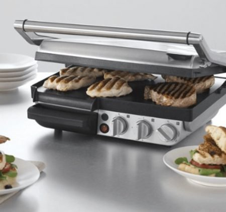 Sage The Smart Grill & Griddle Kontaktgrill + Räucherpistole für 255€ inkl. VSK