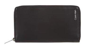 Calvin Klein Geldbörse aus Schafleder in Schwarz für 41,99€ inkl. Versand (statt 80€)