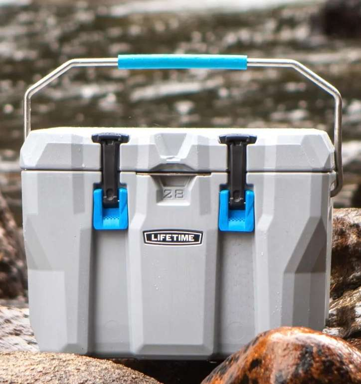 Lifetime Premium Kühlbox (ohne Strom) mit 26,5L Volumen (55 x 33 x 41cm) für 109,65€ inkl. Versand (statt 148€)