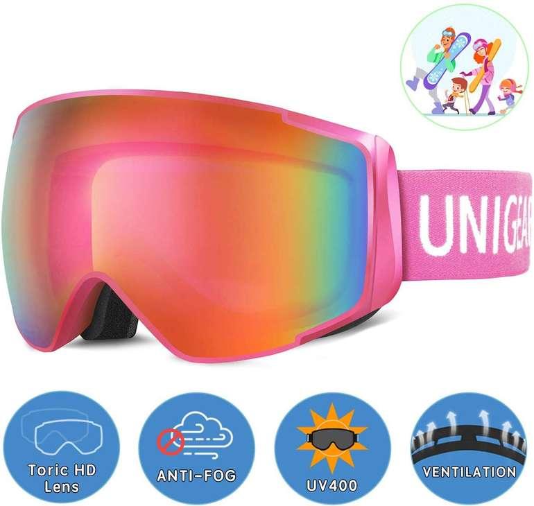 Unigear Skibrille für Erwachsene + Kinder in verschiedenen Ausführungen ab 12,99€ (Prime)