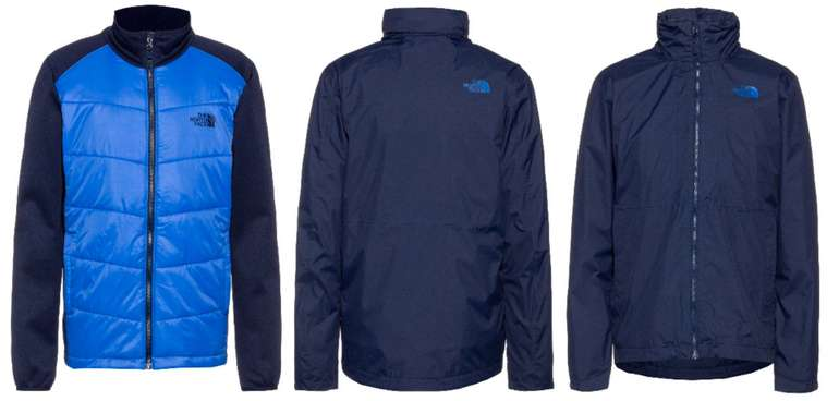 The North Face Herren 3-in-1 Jacke Arashi II