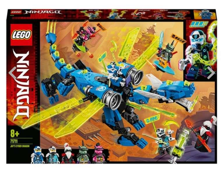 Lego Ninjago 71711 Jay's Cyber Drache für 32,99€ inkl. Versand (statt 40€)