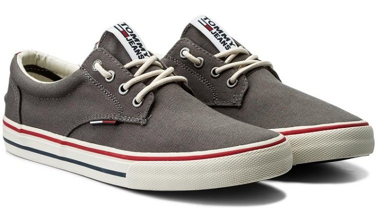 Tommy Jeans Herren Textile Sneaker für 32,95€ inkl. Versand (statt 42€)