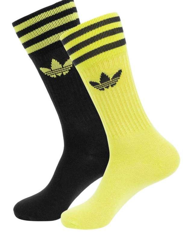 adidas Solid Crew Socken (2 Paar) für 6,99€ zzgl. Versand (statt 10€)