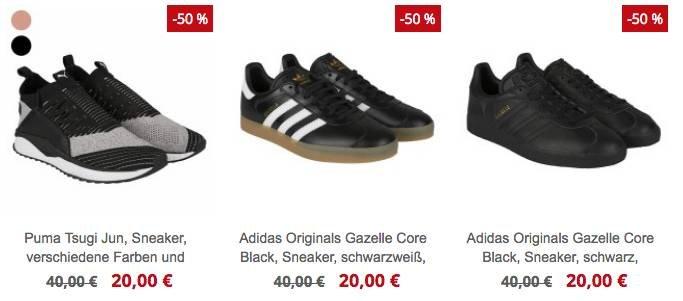 Schnell! Tedi Black Sale: AdidasNikePuma, alle Markenschuhe…