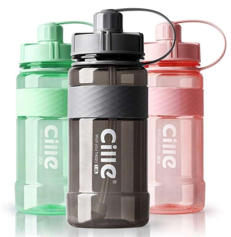 1 Liter Aohan Wasserflasche (BPA frei, Auslaufsicher, Nachhaltig) für 6,45€ inkl. Prime Versand (statt 16€)