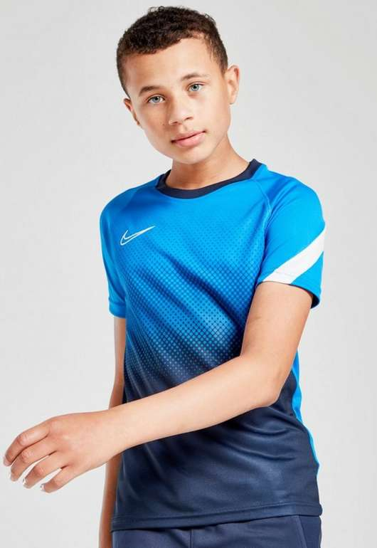 Nike Academy Fade T-Shirt Kinder in Blau für 10€ inkl. Versand (statt 23€)