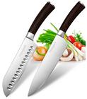 Homgeek - Messerset mit Santokumesser und Küchenmesser für 21,99€ (statt 39,99€)