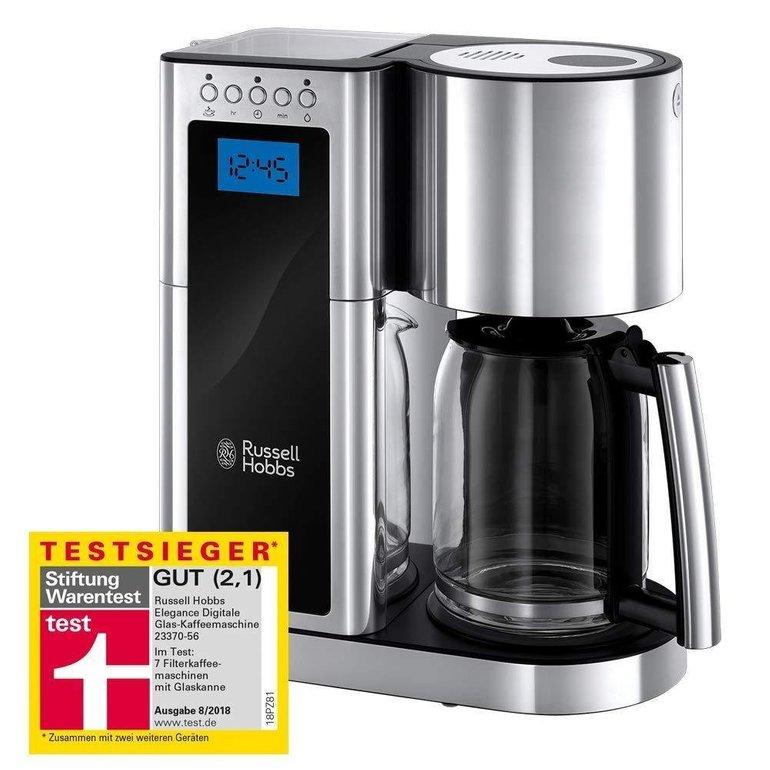 Russell Hobbs Elegance Kaffeemaschine (Schnellheizsystem, 10 Tassen) für 49,99€ (statt 58€)