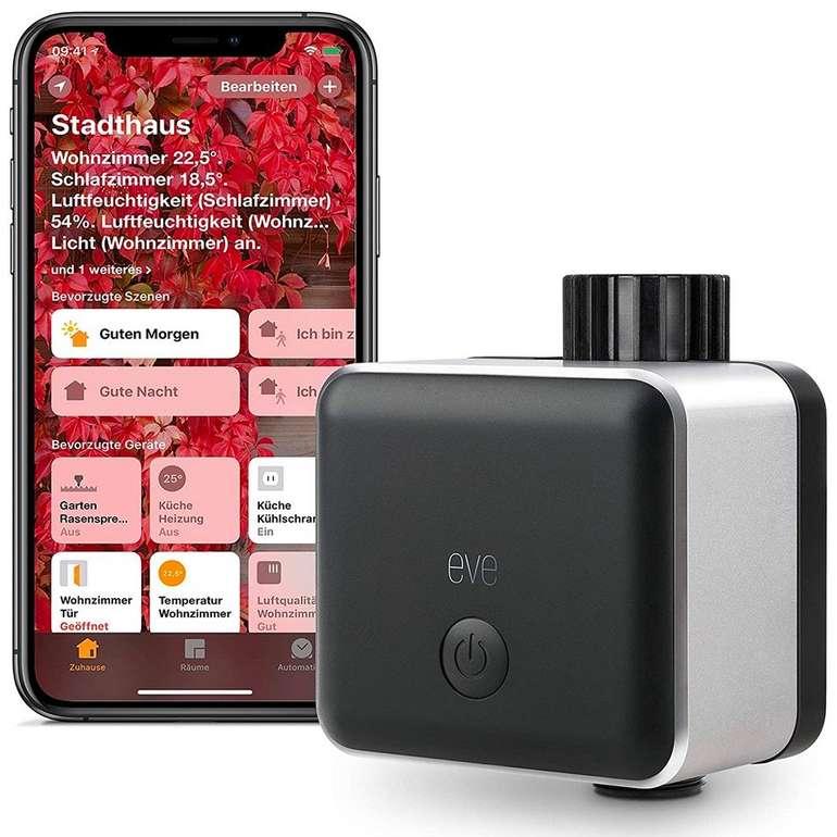 Eve Aqua - Smarte Bewässerungssteuerung (mit Zeitplanung, Siri, Fernzugriff, Home Kit) für 62,15€ inkl. Versand (statt 80€)