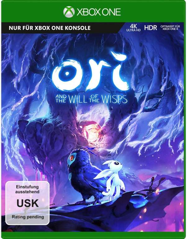 Ori and the Will of the Wisps (Xbox One) für 10,33€ inkl. Prime Versand (statt 16€)