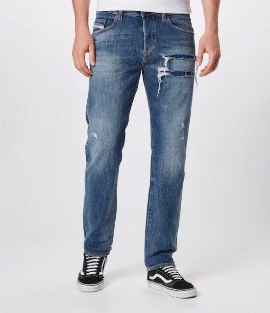 Diesel Jeans 'Buster' in Blue Denim für 67,43€ inkl. Versand