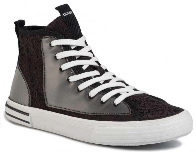 Guess Nettuno Hi Herren Schuhe in Schwarz für 47€ inkl. Versand (statt 80€)