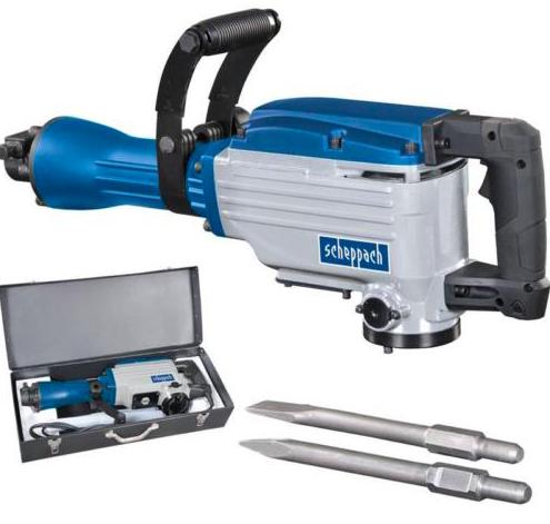Scheppach AB1600 Abbruchhammer mit 1600 Watt für 116,10€ (statt 138€)