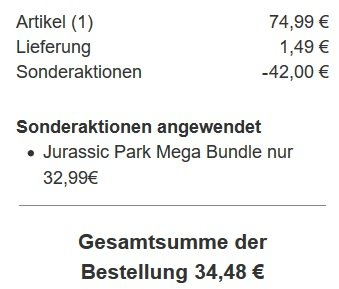 Jurassic Park Bundle