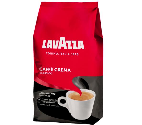 1kg Lavazza Caffe Crema Classico für 9,90€ inkl. Versand (statt 14€)