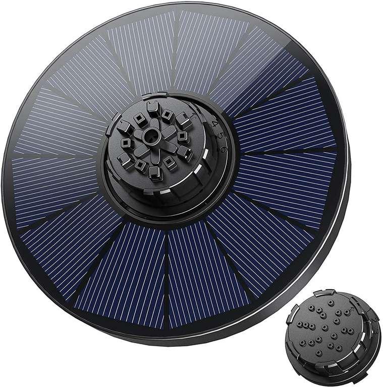 Okmee Solar Wasserpumpe (1.8W, 2 Düsen) für 7,49€ inkl. Prime Versand (statt 15€)